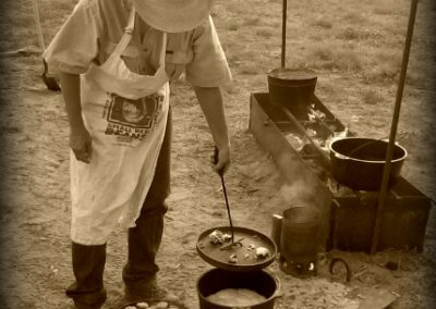 JX Ranch Cowboy cooking