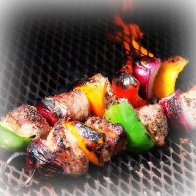 JX Ranch Kabob on the grill